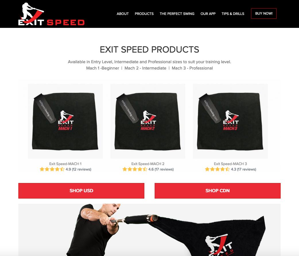 exit-speed