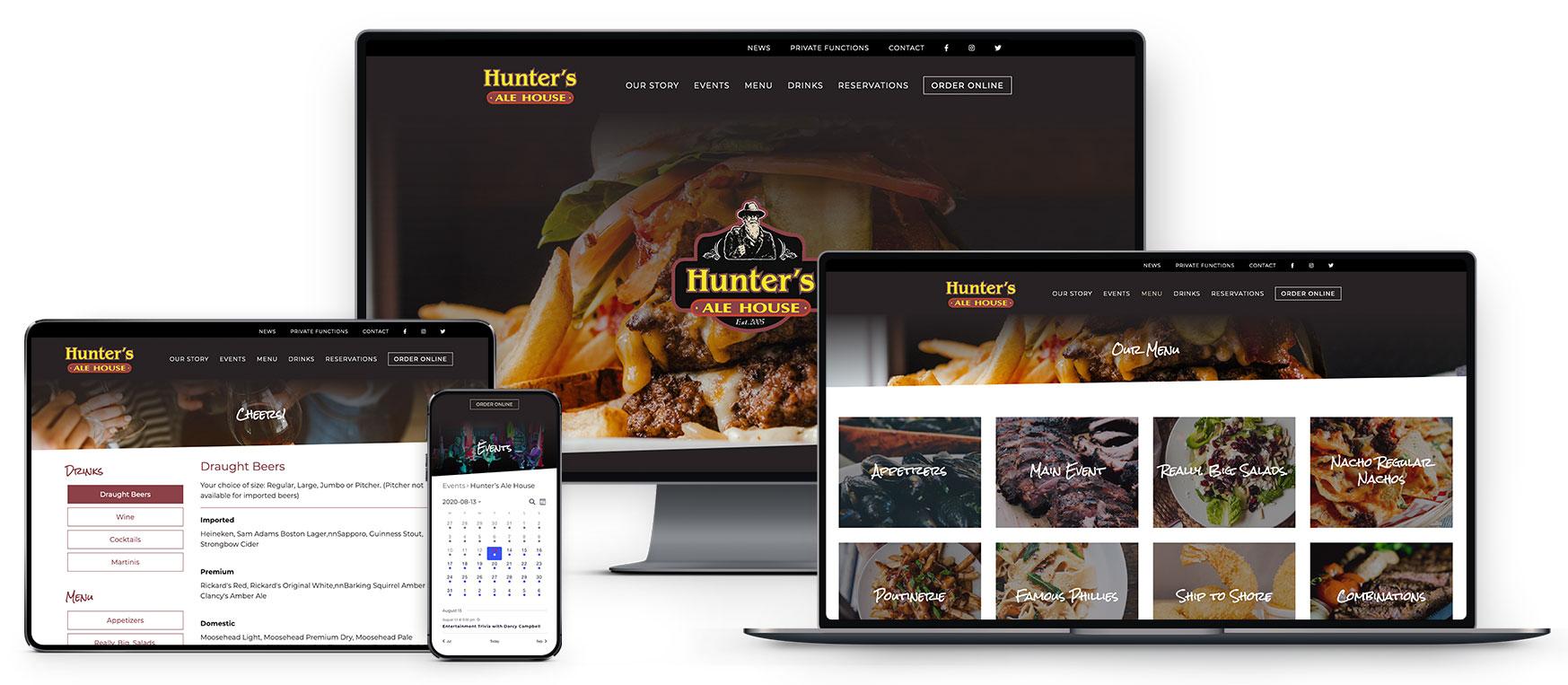 hunters-responsive-mock